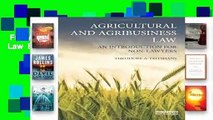 Full Version  Agricultural and Agribusiness Law  Best Sellers Rank : #4
