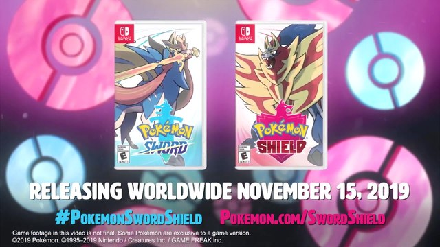 Pokemon Sword & Pokemon Shield - Official New Items & Features Trailer
