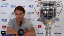 Masters de Londres 2019 - Rafael Nadal is not traumatized not to be in the semifinals  He has the big trophy of world number one