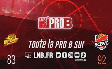 PRO B : Vichy-Clermont vs Saint-Chamond (J6)