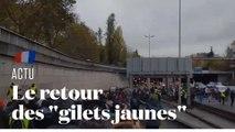 """Un an des """"gilets jaunes"""" : des premières tensions à Paris"""