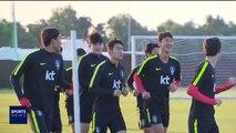 웃음 찾은 대표팀…'이제는 브라질전'