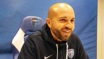 Karim Mokeddem après la victoire du FBBP01 en Coupe de France face à Troyes