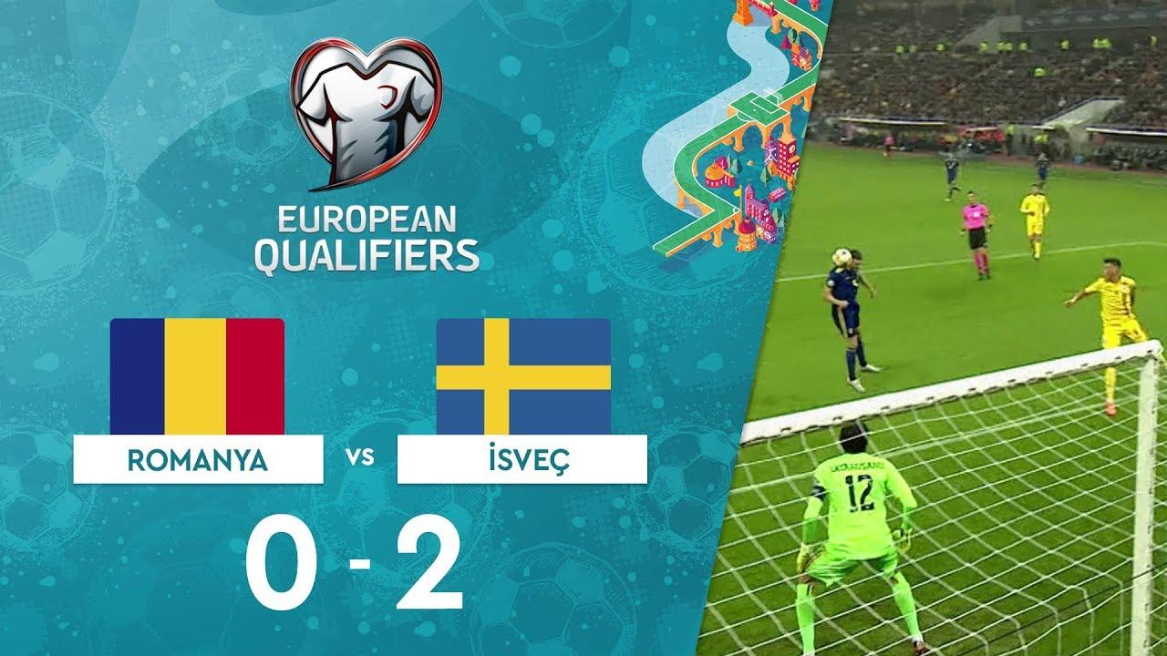 Romanya 0-2 İsveç | EURO 2020 Elemeleri Maç Özeti - F Grubu