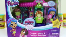 Flipsies Styla's Salon and Fashion Boutique Playset + Jazz and Her Drum Set by VTech Toys-