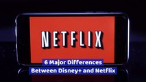 The Contrast Between Disney Plus And Netflix
