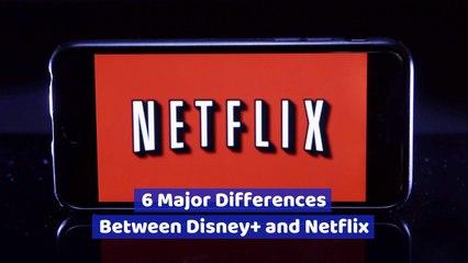 The Contrast Between Disney Plus And Netflix