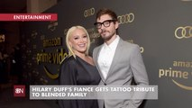 Hilary Duff And Her Husbands Tattoo
