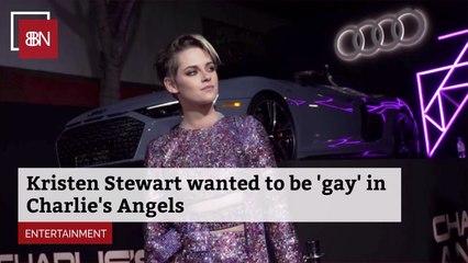 Kristen Stewart's Sexuality In 'Charlie's Angels'