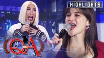 "Anne amazes Vice with her ""The Rock"" impersonation 