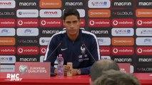 """Equipe de France : """"Je ne sens pas Lenglet déstabilisé (après sa bourde)"""" rassure Varane"""