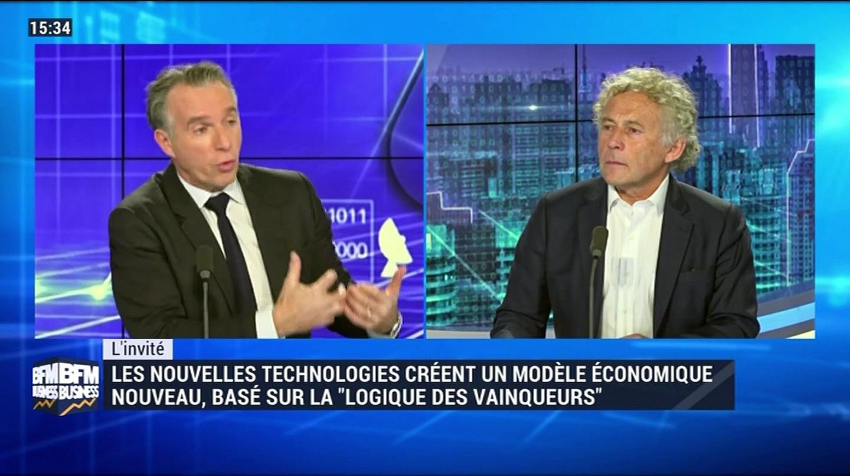 """Les nouvelles technologies créent un modèle économique nouveau, basé sur la """"logique des vainqueurs"""" – 16/11"""