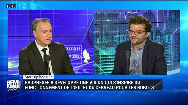 Start-up booster: Prophesee a développé une vision qui s'inspire du fonctionnement de l'œil et du cerveau pour les robots – 16/11