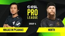 CSGO - North vs. Ninjas in Pyjamas [Nuke] Map 2 - Group A - ESL EU Pro League Season 10