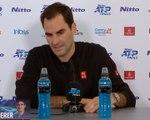 """Masters - Federer: """"Je suis très déçu aujourd'hui"""""""