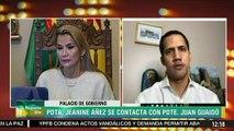Guaidó dice que Bolivia es una inspiración para los venezolanos