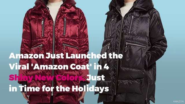 Amazon Just Launched the Viral 'Amazon Coat' in 4 Shiny New Colors, Just in Time for the Holidays
