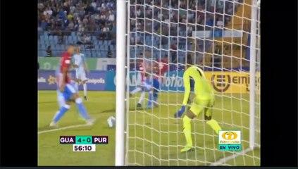 Cuarto gol de la Selección Nacional ante Puerto Rico