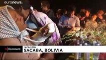 شاهد: مدينة ساكابا البوليفية تودّع 5 من أنصار الرئيس السابق موراليس قتلوا بالرصاص