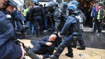 Paris police, protesters clash on 'yellow vest' anniversary