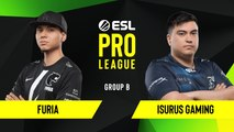 CSGO - FURIA vs. Isurus Gaming [Overpass] Map 1 - Group B - ESL NA Pro League Season 10
