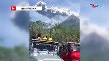 Detik-detik Gunung Merapi Meletus!