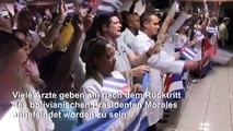 Nach Anfeindungen: Kuba zieht Ärzte aus Bolivien ab