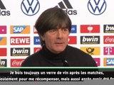 """Euro 2020 - Löw : """"Un verre de vin comme récompense"""""""