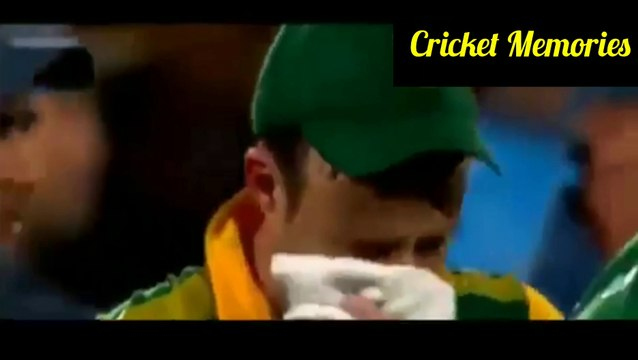 Emotional Moments Of Cricket History