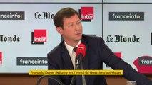 """François-Xavier Bellamy :  """"Les Français ont le sentiment qu'ils ne maîtrisent plus leur destin, qu'ils sont condamnés à subir."""""""