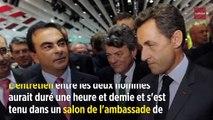 Nicolas Sarkozy : sa rencontre très confidentielle avec Carlos Ghosn