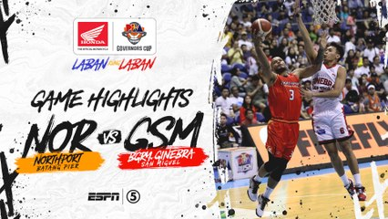 Highlights: NorthPort vs Ginebra | PBA Governors' Cup 2019