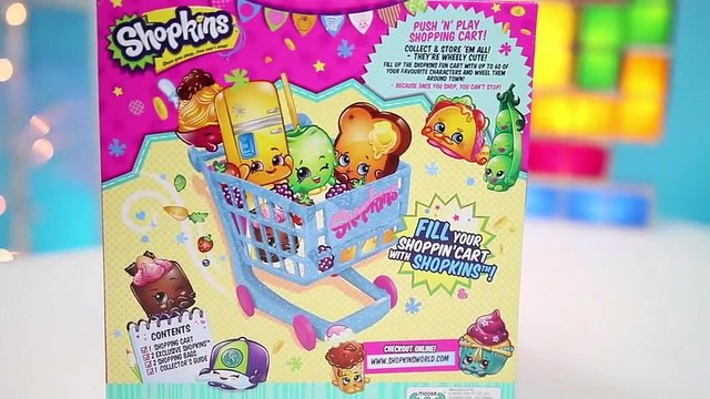 Shopkins Shopping Cart with EXCLUSIVE Figures-