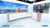 """""""Gilets jaunes"""" : un dimanche de mobilisation"""