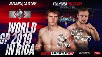 D.FORSBERG  vs  J.ORLOV    KOK VLOG  RIGA 24.11.2019
