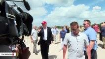 Trump Says Biden Is 'Somewhat Better' Than A 'Rabid Dog,' Calls Kim 'Mr. Chairman'