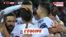 Tous les buts de Luxembourg - Portugal - Foot - Qualif. Euro 2020