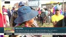 teleSUR Noticias: Continúa resistencia popular en Bolivia