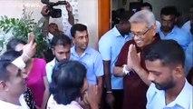 Cingaleses elegem ex-militar para a presidência
