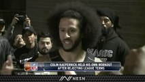 Colin Kaepernick Statement After NFL Workout