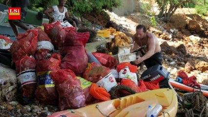 Sénégal : la chasse aux plastiques dans les eaux de Dakar