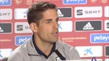 """Robert Moreno: """"Todos los entrenadores lo que hacemos es descontar días"""""""