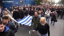 """L'autunno caldo degli studenti in Grecia: """"Fuori la polizia dall'università"""""""