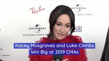 Kacey Musgraves And Luke Combs At The CMAs