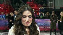 Idina Menzel chats Elsa, Oscars and John Travolta!