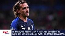 Equipe de France : Buteur contre l'Albanie, Griezmann égale Papin et Fontaine (et revient sur Zidane)