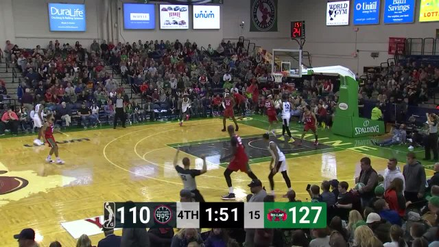 Devin Robinson Posts 28 points & 10 rebounds vs. Maine Red Claws