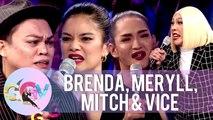 Vice, Meryll, Brenda and Mitch reenact Maricel Soriano's iconic scene from her movie | GGV