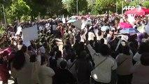 Áñez enfrenta pedidos de dimisión entre manifestaciones en Bolivia