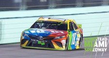 Kyle Busch finishes off his second Monster Energy Series title